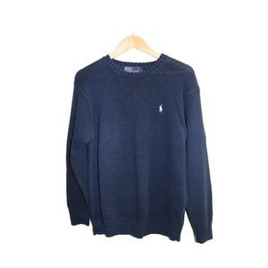 Polo Ralph Lauren Blue Crewneck Knit Sweater